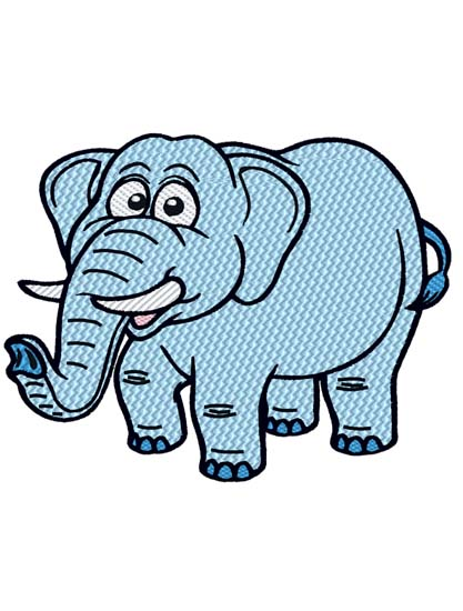 Cartoon Elephant 1