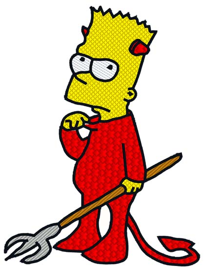 Bart Simpson Devil
