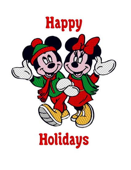 Mickey Minnie Holiday