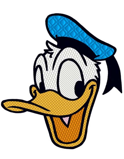 Donald Duck Head