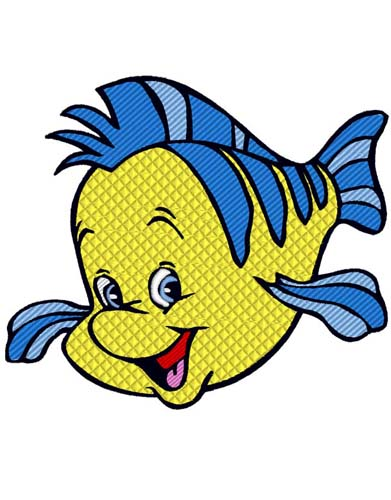 Little Mermaid Flounder