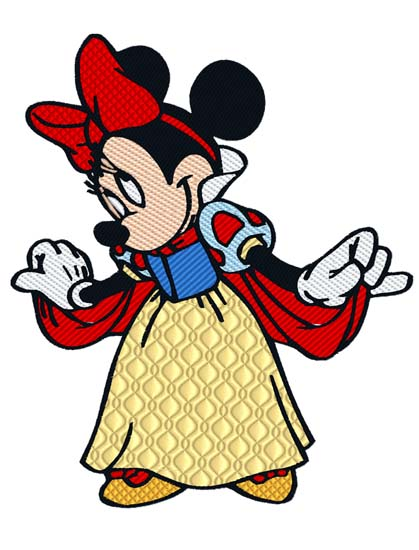 Minnie Mouse Snow White