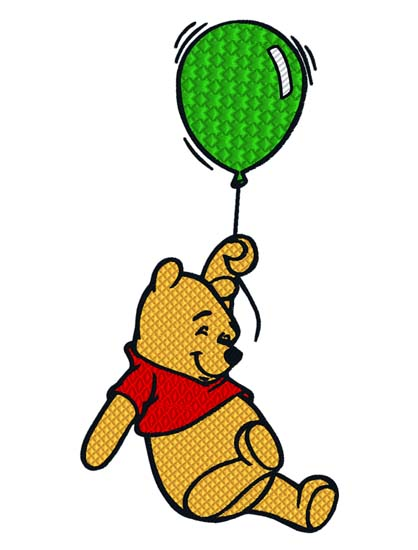 Pooh Hanging Balloon