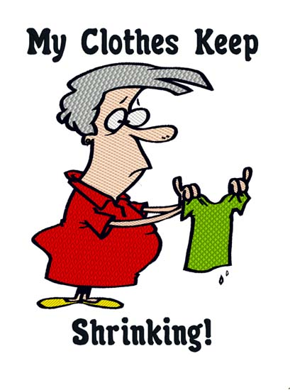 Shrinking Clothes