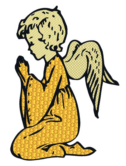 Praying Angel 2